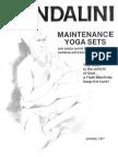 Maintenance Yoga Sets (15p)