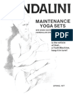 Maintenance Yoga Sets (15p)