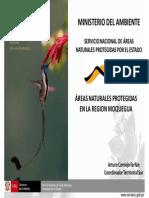 Areas Naturales protegidas en la region Moquegua
