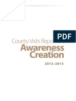 County Visit Reports 2012-2013
