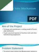 Scotch Yoke Mechanism Ppt