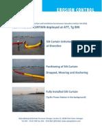 Case Study Floating Silt Curtain Deployed at Att Tg Bin