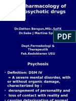 K26 - Pharmacology of Antipsychotic Drugs