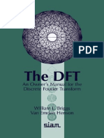 An Owner's Manual for DFT