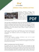 DDA Slum Rehabilitation Policy Dwellers Get Prime Importance