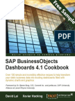 SAP BusinessObjects Dashboards 4.1 Cookbook - Sample Chapter