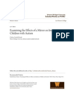 Examining the Effects of a Mirror on Imitation in Children With a Bella's Tajuk