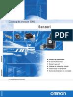 Catalog Senzori OMRON