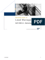 Lead Management Detailed View