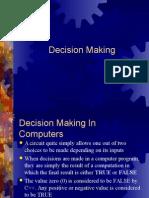 Program Decisions