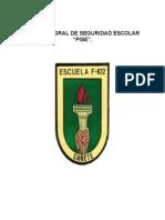 Plan Integral de Seguridad Escolar Escuela Homero Vigueras Araneda 2015