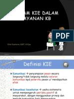 Program Kie Dalam Pelayanan Kb
