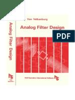 Analogue Filter Design