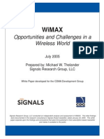 WiMAX July 2005 1