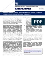 Newsletter MRRFEU - Prosinac 2014.