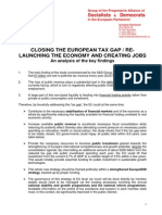S&D - Closing the European Tax Gap