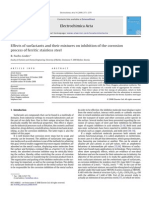 Effects of surfactants and their mixtures on inhibition of the corrosion process of ferritic stainless steel.pdf