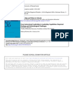 Robinson_Instructional Leadership Capabilities Policy