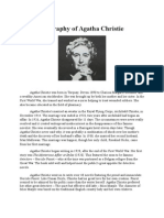 Biography of Agatha Christie