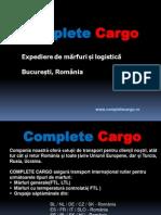 Company Prezentare Complete Cargo
