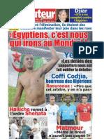 LE BUTEUR PDF du 29/01/2010