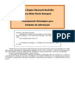 Planejamento Estrategico Para Unidades de Informacao (Celia Regina Simonetti Barbalho e Vera Silvia Marao Beraquet)