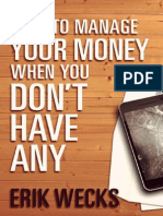 How to Manage Your Money - Erik Wecks