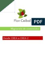 Migración de Contenidos Crea-Crea 2