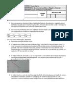 Medida de Eficiencia Geometria Analitica e Algebra Vetorial
