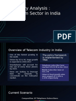 telecom industry analysis in India