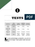 III.1 - Tests Psychotechniques