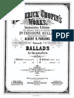 Chopin Ballade No1 Op23