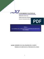 La Rioja - El Control de La Obra Publica-Auditoria de Ejecucion de La Misma - De La Cuesta