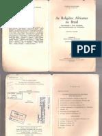 BASTIDE-R - As Religiões Africanas No Brasil - Vol 2 - Os Problemas Da Memoria Coletiva