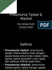 Pneumonia Tipikal & Atipik