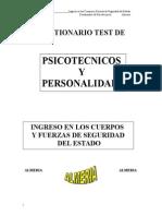 Test Psicotecnicos y de Personalidad
