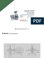 Pump-gear Type m Model