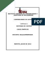 CapII -Casos Especificos de Sistemas de Custeio