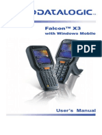 FALCON X3 Mobile User Manual