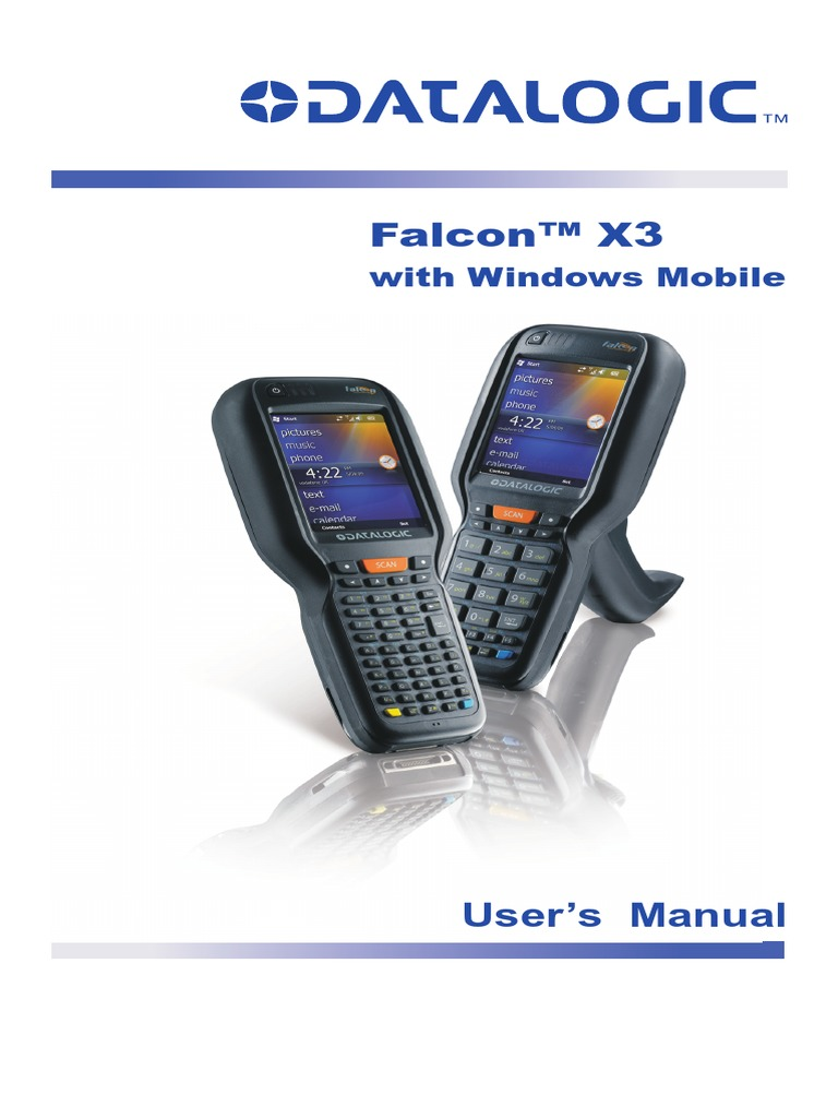 Falcon x3. User s manual. User s manual. With windows ce pdf.