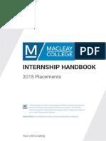 internship handbook