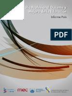 Desarrollo Profesional Docente y Mejora de La Educación - Informe País