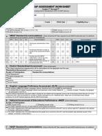 MEAP Worksheet Grades 3-9 3-4-08