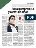 Carlos Rivera en el VP Semanario