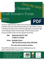 Save the Date - Southwest Youth Resource Forum