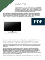 Asesoria En Instalacion Para TV LED