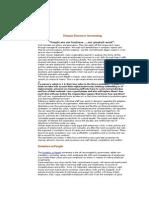 Human Resource Accounting 170
