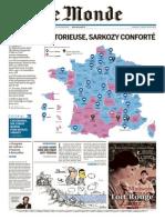 Le Monde Du Mardi 31 Mars 2015