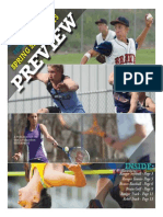 2015 Spring Sports Preview