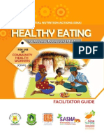Healthy Eating for Mothers, Babies and Children. Facilitator Guide